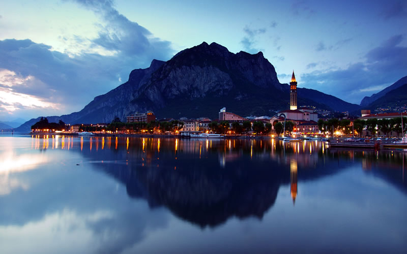 lecco notturna